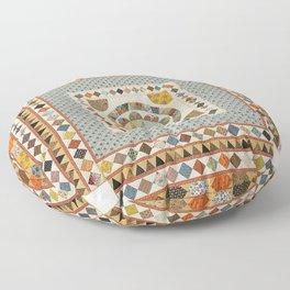 Mrs Vigor's Medallion Floor Pillow
