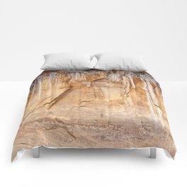 Time's Language (Zion National Park, Utah) Comforters
