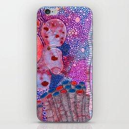 Bacterial world iPhone Skin