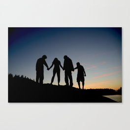 We Canvas Print