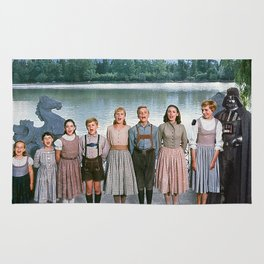Darth Vader in The Sound of Music Rug