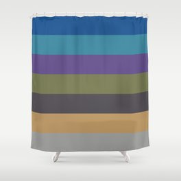 Intrigue Stripes Shower Curtain