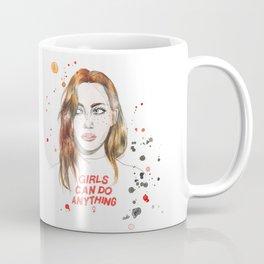 Girls can do anything! Coffee Mug