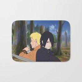Naruto & Sasuke Bath Mat