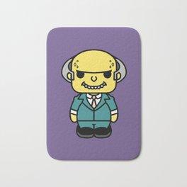 señor Burns style pin y pon Bath Mat
