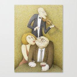Slow Hand Serenade Canvas Print