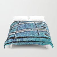 tinker bell Duvet Covers featuring Bell  by Ethna Gillespie