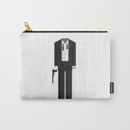Fictional British Secret Service Agent - Casino Mission Minimal Sticker Carry-All Pouch