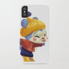 Winter Bear iPhone X Slim Case