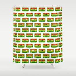 REGGAE MIX TAPE Shower Curtain