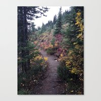not all who wander Canvas Prints featuring Not all who wander by walkerrb