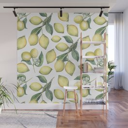 Lemon Fresh Wall Mural