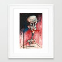 broken Framed Art Prints featuring Broken by Anthony Resto