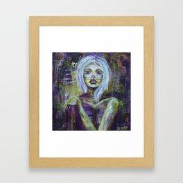 Vanishing - Consumed By Sadness Framed Art Print