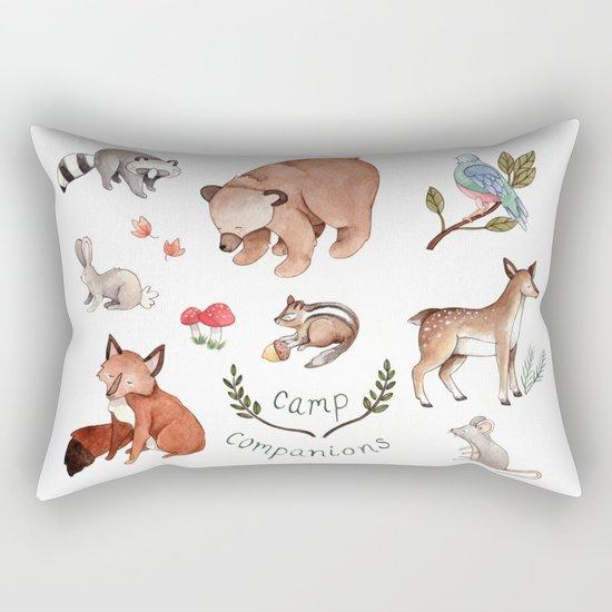 Camp Companions Rectangular Pillow