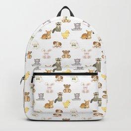 Cute Woodland Farm Baby Animals Nursery Backpack