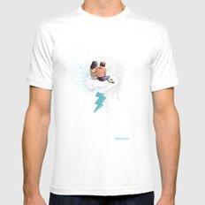N.LOVE SMALL Mens Fitted Tee White