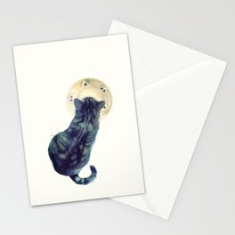 Kitten and Saucer Stationery Cards