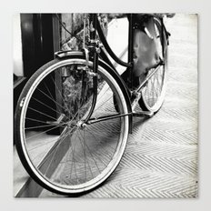 Bike Detail Canvas Print