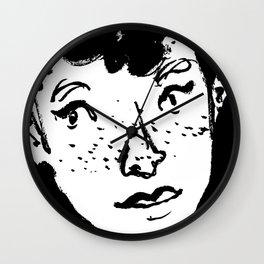 Ink Portrait Wall Clock