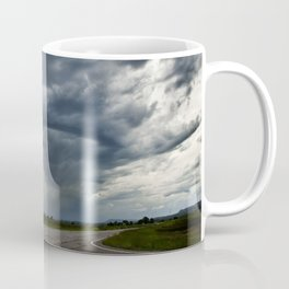 Storm Cell in Montana Coffee Mug
