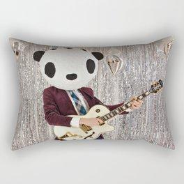 Peter Panda Rocking Out Rectangular Pillow