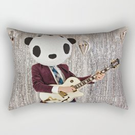 Peter Panda Rocking Out Rectangular Pillow