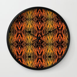 Tiger Style Wall Clock