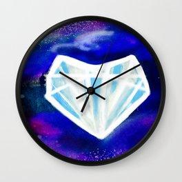 Hearts or Diamonds, I'll Take Diamonds Wall Clock