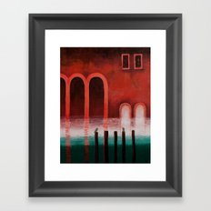 Little Venetian Story Framed Art Print
