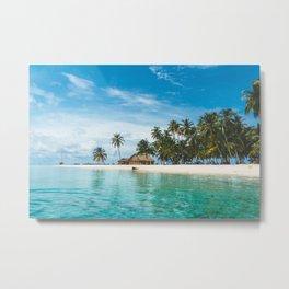 Sleeping on the San Blas Islands, Panama Metal Print