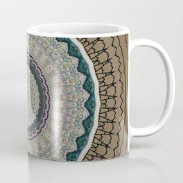 Vintage Paper Mandala Coffee Mug