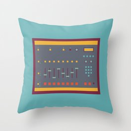 EMU SP1200 Sampler Throw Pillow