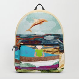 When dolphins are around 10 Backpack