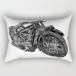 Vintage BMW R32 Motorcycle Redux Rectangular Pillow