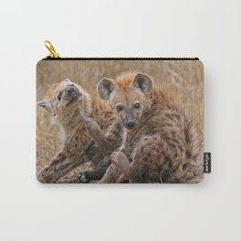 Young hyenas, Africa wildlife Carry-All Pouch