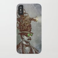 film iPhone & iPod Cases featuring The Projectionist (colour option) by Eric Fan