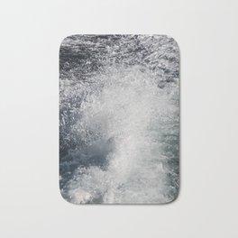 Water Behind A Ship Bath Mat