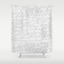 Issa Squiggle Shower Curtain