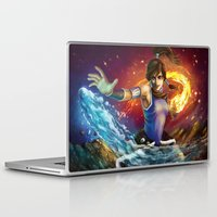 korra Laptop & iPad Skins featuring Korra by Nikittysan