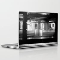 subway Laptop & iPad Skins featuring Subway by Kameron Elisabeth