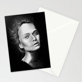 Love Girls - Black Stationery Cards