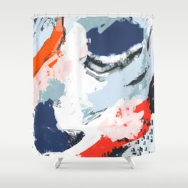 Abstract Color Pop Shower Curtain