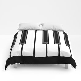 Ebony & Ivory Comforters