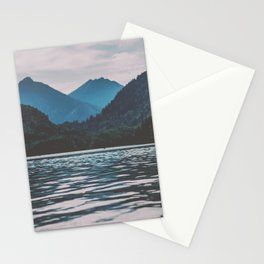 Bannwaldsee, Schwangau  lake in Bavaria Germany Stationery Cards