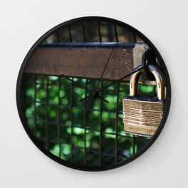 ~Lock Your Love Up and Throw Away the Key~ Wall Clock