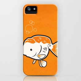 Ranchu Goldfish iPhone Case