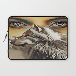 Spirit Of The Wolf Laptop Sleeve