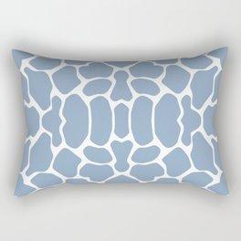 Rock Blue Safari Giraffe Rectangular Pillow