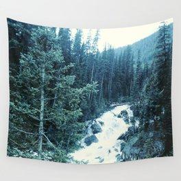 Mountan Stream Wall Tapestry